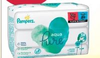 Feuchte Tücher Aqua von Pampers