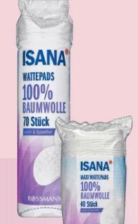 Wattepads von Isana