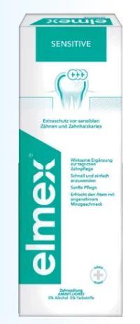 Sensitive Zahnspülung von Elmex