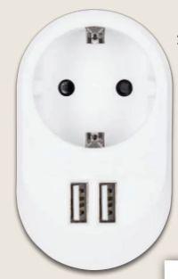 USB-Steckdosenadapter von SilverCrest