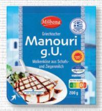 Griechischer Manouri Käse von Milbona