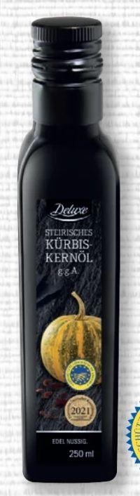 Steirisches Kürbiskernöl von Deluxe