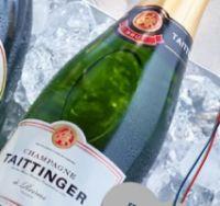 Champagner Brut von Taittinger