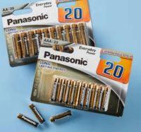 Everyday Power Alkali-Batterien von Panasonic