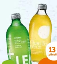 Bio Limonaden von Lemonaid