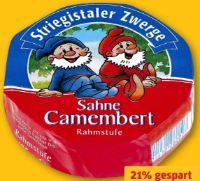 Sahne-Camembert von Striegistaler Zwerge