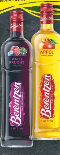 Fruchtige Liköre von Berentzen