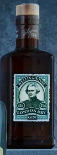 London Dry Gin von Wellinghouse
