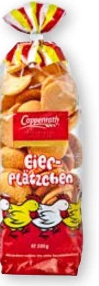Eier-Plätzchen von Coppenrath Cookies