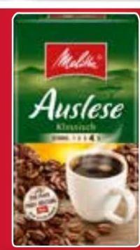 Kaffee Auslese von Melitta