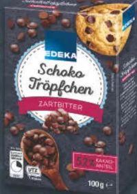 Schoko Tröpfchen von Edeka