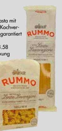 Original italienische Pasta von Rummo